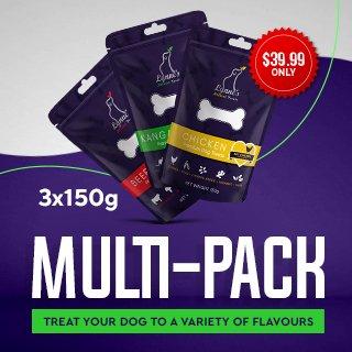 Natural Dog Treat Multipack